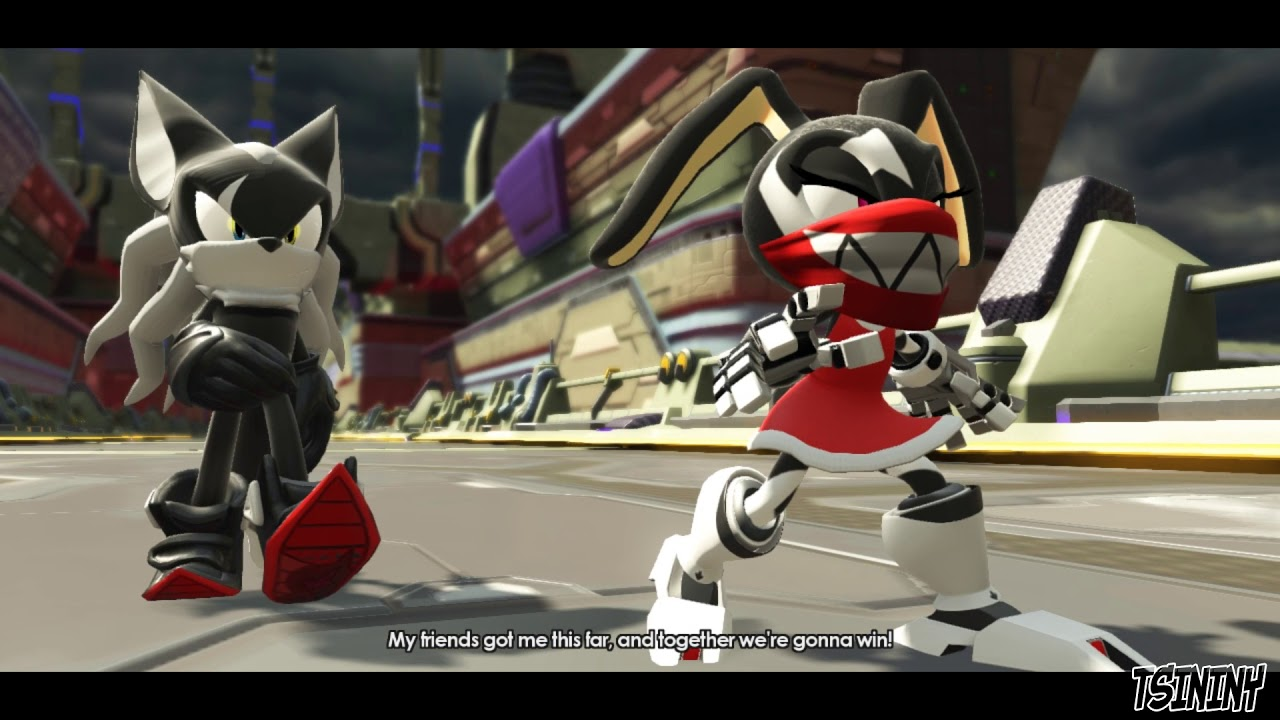 Sonic Without Forces Mask Infinite