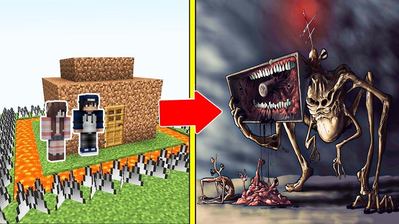 Download MEGAHORN CHÚA QUỶ ĐẦU LOA Tấn Công Nhà Được Bảo Vệ Bởi bqThanh và Ốc Trong Minecraft