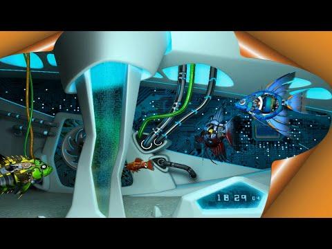 Заставка Рыбки Роботы 3D, заставки аквариумы, живые обои для рабочего стола