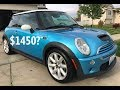 Ride along and review of the CHEAPEST Mini Cooper S in the USA