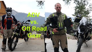 Adventure VS. Off Road Riding Gear  |  All About Compromises