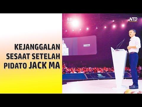 Kejanggalan Sesaat Setelah Pidato Jack Ma
