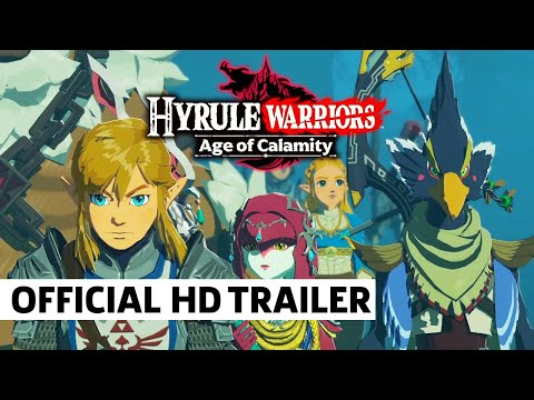 Hyrule Warriors: Age Of Calamity - Champions Unite! TGS 2020 Trailer