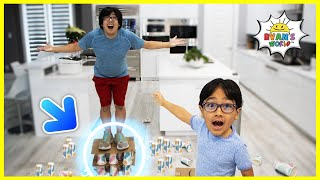 Standing on Paper Cups Challenge   Science Experiments easy DIY!