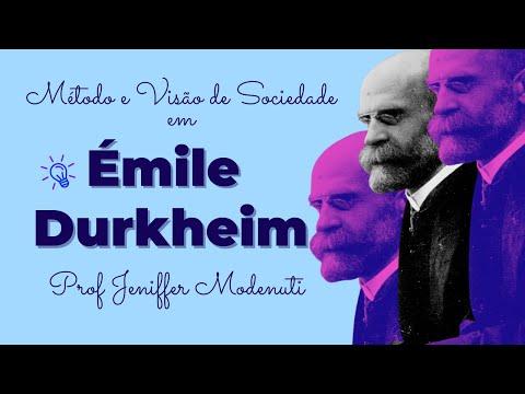 Durkheim: Método e Visão de Sociedade