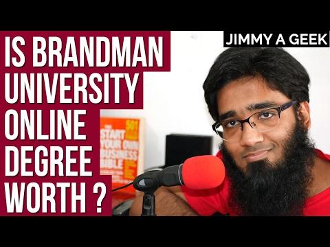 Is Brandman University Online Degree Worth ?