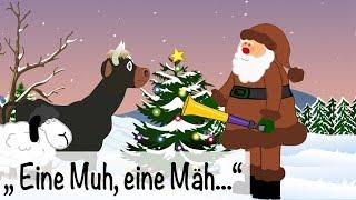 Eine Muh eine Mäh -  Nikolauslied -  Weihnachtslieder