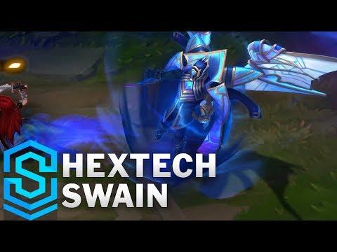 Hextech Swain Skin Spotlight - League of Legends