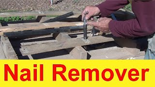 #16 Nail Remover Homemade Tool…