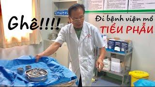 [Du Học Liễu Châu Trung Quốc] Đi bệnh viện Tiểu Phẫu máu me tè le 🥶😱