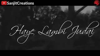 Lambi judai | pav dariya | sunix thakor | dj pops | whatsapp status video 2018 | Sanjit Creations