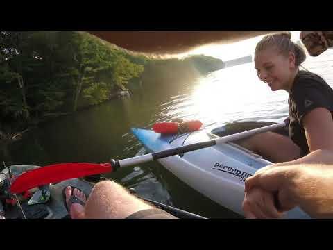 Bass Fishing On Delta Lake Ny