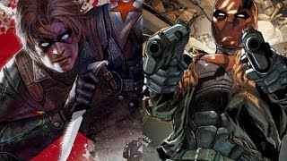 Winter Soldier (Bucky) VS Red Hood )(Jason Todd)
