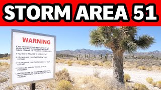 AREA 51 RAID BEGINS: People Are ACTUALLY Showing Up At Area 51! DOCUMENTING THE SEPTEMBER 20TH STORM