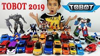Тоботы новый Челлендж 2019 - Трансформируем Тобот Титан и Тобот Тритан. Tobot toys for kids - 또봇