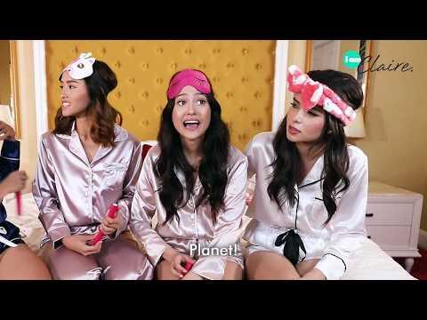 Tagalog Challenge with Maureen, Jeanine, Jamina, and Kelley | iamClaire.