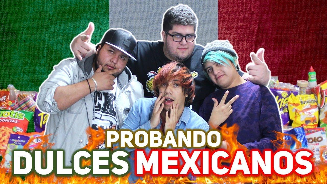 PARAGUAYO PRUEBA DULCES MEXICANOS - PARTE 1, 2 Y 3