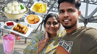 A Day in Kolkata with her | Exploring Local foods