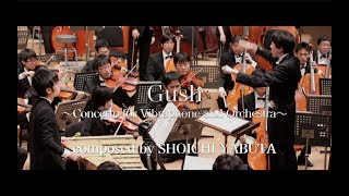 Vibraphone concerto『Gush ~Concerto for Vibraphone and Orchestra~』composed by SHOICHI YABUTA 作曲:薮田翔一