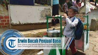 Erwin Bocah Penjual Baso di Garut, Viral di Medsos
