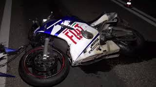 LUGO: Perde il controllo della moto durante il sorpasso, grave 33enne | VIDEO