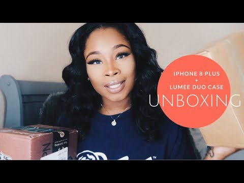 Iphone 8 Plus + LuMee Duo case UNBOXING
