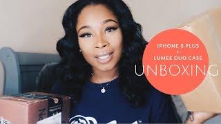 Iphone 8 Plus + LuMee Duo case UNBOXING