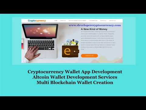 Cryptocurrency Wallet App Development, Multi Blockchain Wall