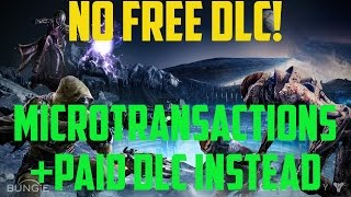 No Free DLC For Destiny! Activision CEO Says Mictrotransactions & Destiny Expansions Can Co-exist