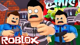 ROBLOX - ESCAPING PRISON PER MEET I O ME !!! w/ LITTLE KELLY & SHARKY