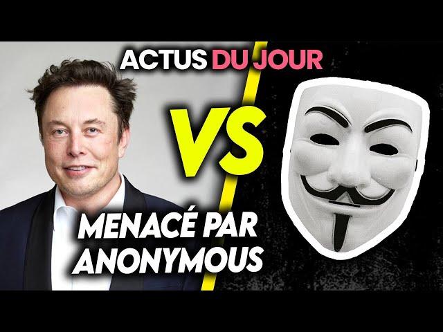 Prison pour l'homme qui a gℹ️flé Macron, Musk menacé par Anonymous... Actus du jour