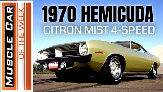 1970 Plymouth Cuda 426 Hemi 4-Speed - Muscle Car Of The Week Video Episode 348
