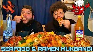 BRAISED SEAFOOD & RAMEN MUKBAN…