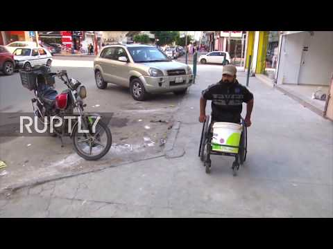 State of Palestine: Double amputee shot dead cleaned cars to support family *ARCHIVE*