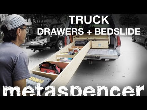 Truck Bed Drawers + BedSlide FULL BUILD