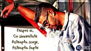 Speak feat. Alex Velea & DOC - Imi pare rau VERSURI/LYRICS