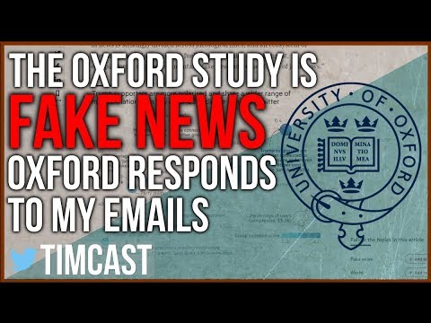 """This is Why The Oxford Study on """"Junk News"""" is Fake news / Oxford Responds."""