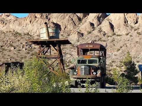 Exploring : Awesome Ghost Town - Nelson, Nevada!