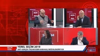 Seçim Özel-10-Ragıp Duran-Ayşe Yıldırım-Ahmet Nesin-Eser Karakaş 1 Nisan 2019