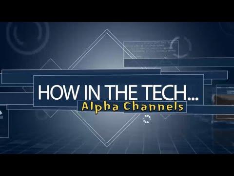 How To Create Alpha Channel In Photoshop | Adobe Photoshop | ATEM Blackmagic