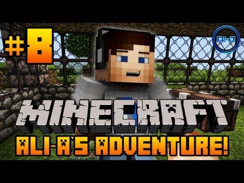 """Minecraft - Ali-A's Adventure #8! - """"I'M ALIVE!"""""""