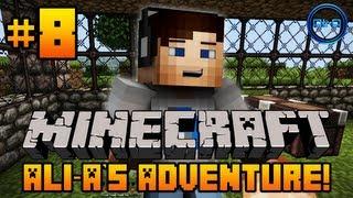 Minecraft - Ali-A's Adventure #8! -