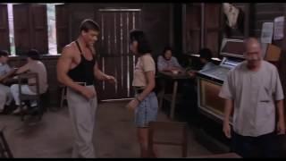 Жан клот ван дамм танцует под Eva Simons Policeman DJ Aleks Feat  DJ Dava Mashup