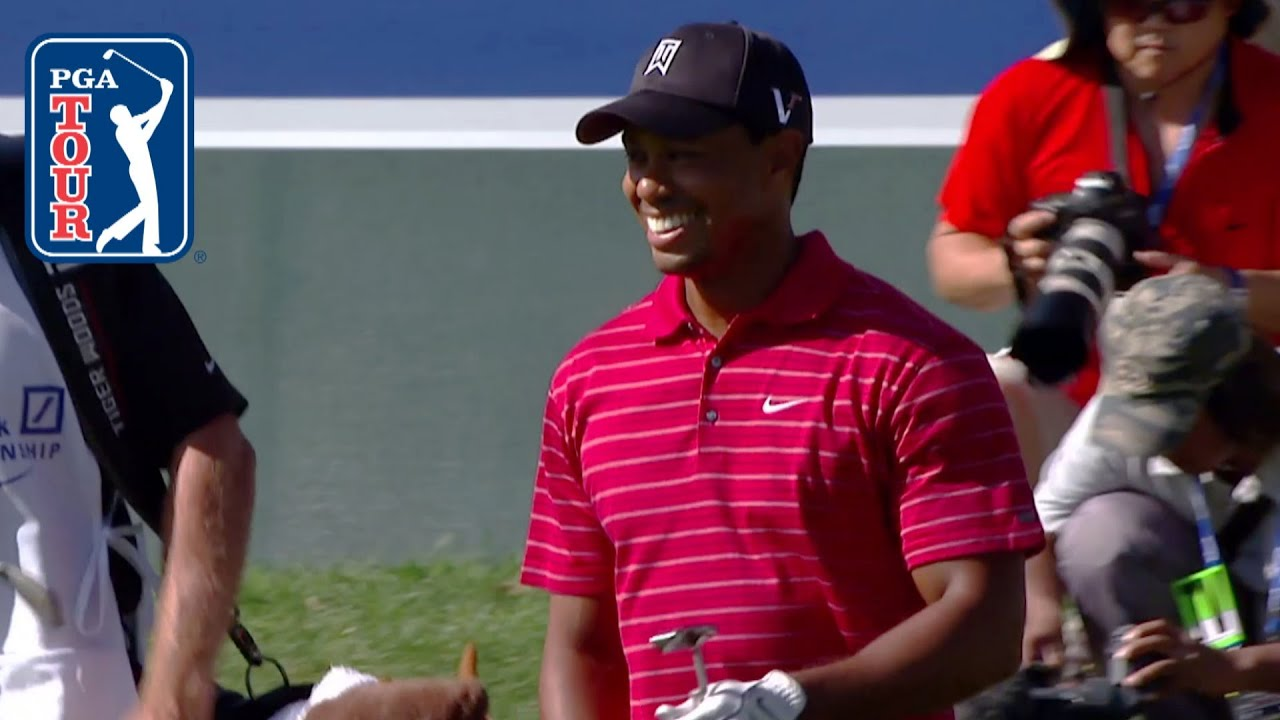 Best of: Tiger Woods' flop shots on the PGA TOUR