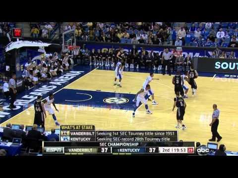 Highlights: Vanderbilt tops Kentucky in 2012 SEC Championship