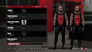 WWE 2K15 American Badass Undertaker Superstar Studio