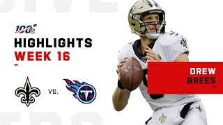 Drew Brees Leads Saints to Victory
