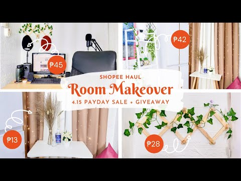 aesthetic-room-makeover/-transformation-philippines--shopee-haul/-finds-affordable-room-decor--2021