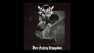 �������� ���� Mayhem - Pure Fucking Armageddon (Full Demo) 1986 ������