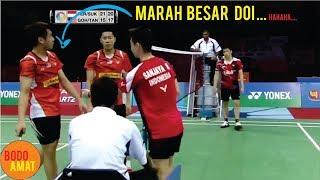 PEMBALASAN BOCAH TENGIL (kevin sanjaya) UNTUK PEMAIN MALAYSIA